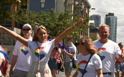 Coronis marched with pride in support of diversity